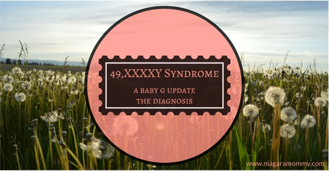 How she found out about her son's chromosomal abnormality, known as 49, XXXXY Syndrome.