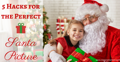 5 Hacks for the Perfect Santa Picture
