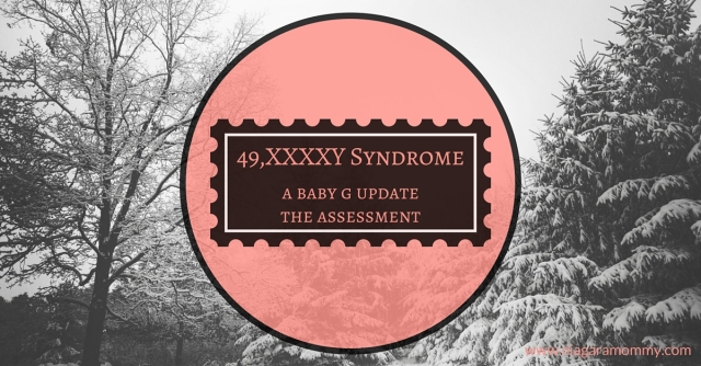Wow, a whole team assigned to her son to help him with the challenges he's facing with 49, XXXXY Syndrome. Awesome!