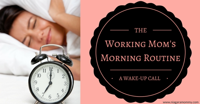 Think you've got your momrning routine all planned out when you go back to work? Think again,Mommy!