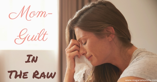 When mom guilt sets in, there's nothing anyone can say to make it go away.