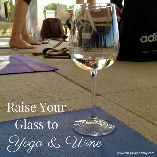 Yoga and wine together? Sign me up!
