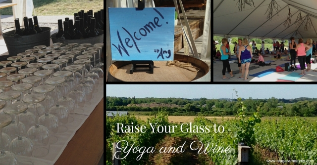 Yoga and Wine View