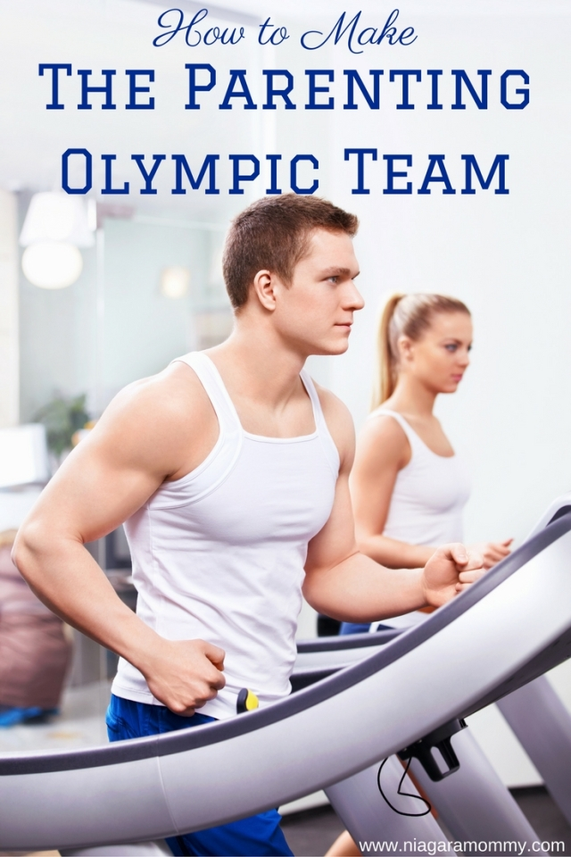 You think you've got what it takes to make it to the Parenting Olympic Team?